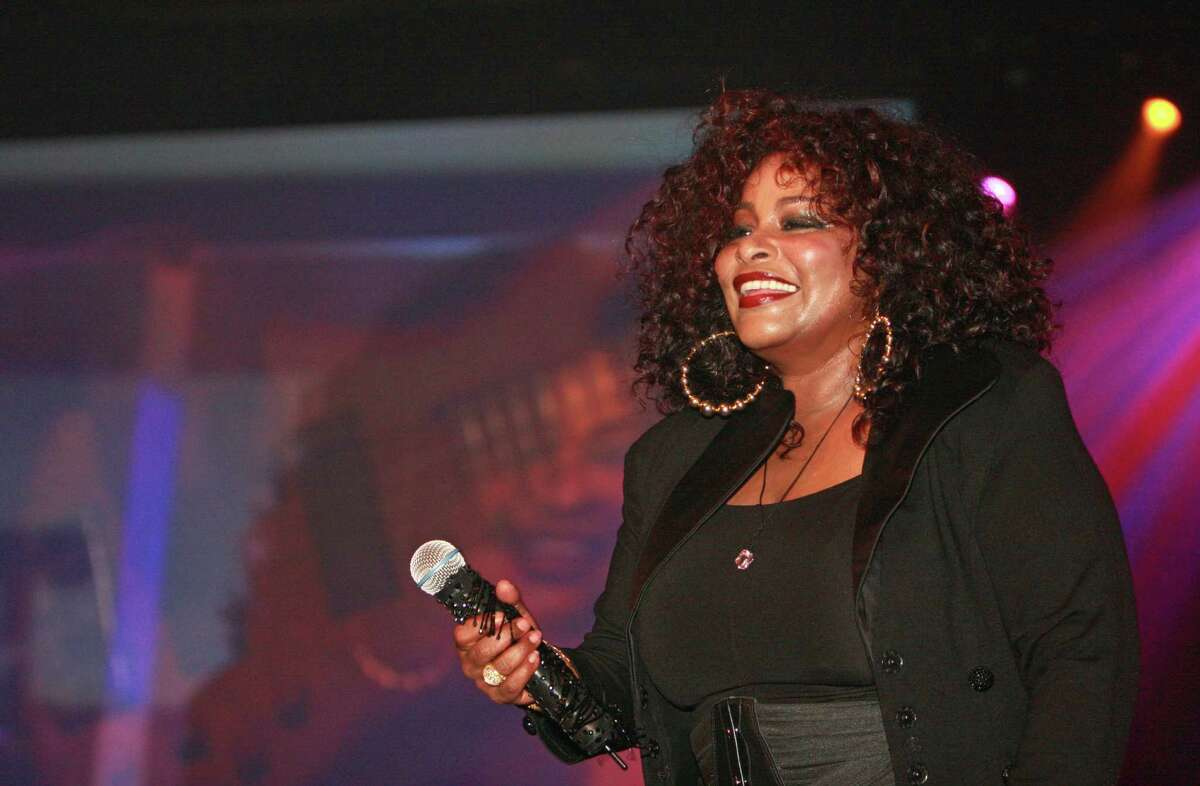 Chaka Khan performing at the Cabaret For A Cure in 2011 in Houston.