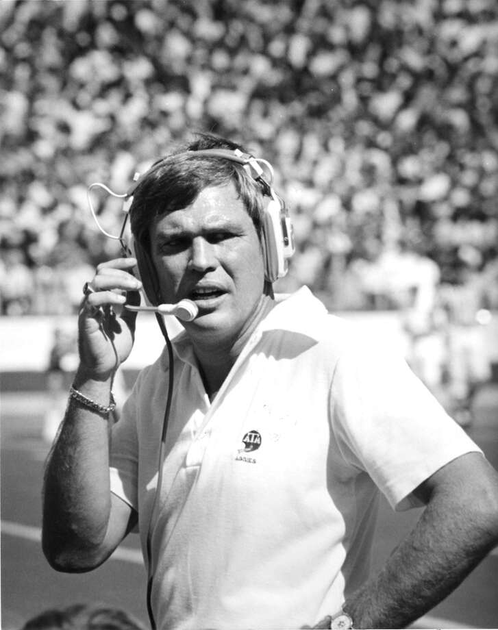 Tom Wilson served as Texas A&M's head coach for parts of four seasons from 1978-81. He died Wednesday at age 71. Photo: Texas A&M Athletics