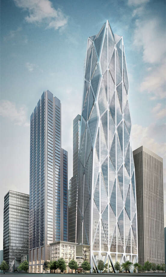 Proposed renderings of the Waldorf Astoria San Francisco luxury hotel, which will be built within a new building complex near the Transbay Transit Center. Photo: Courtesy Waldorf Astoria Hotels & Resorts