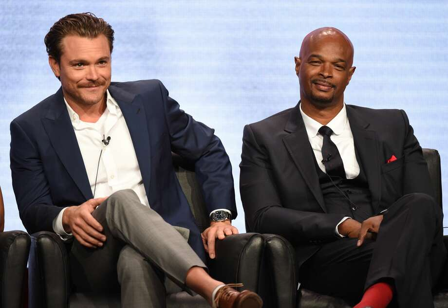 TV's 'Lethal Weapon' star Clayne Crawford opened up about his Texas character and Hill Country in-laws. He's seen here with co-star Damon Wayans during the 2016 FOX SUMMER TCA Aug. 8 at the Beverly Hilton in Beverly Hills, Calif. Frank Micelotta/FOX Photo:  Frank Micelotta/FOX
