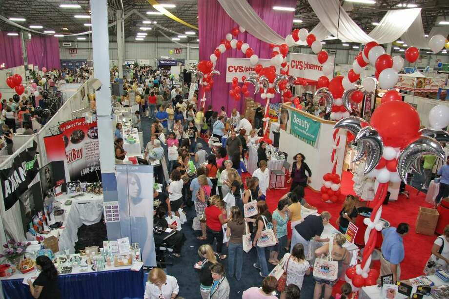 Crowds gather at a recent women's health expo held in Hartford. Expo organizers, Westport-based Connecticut Expos, will be staging the first Fairfield County Women's Expo this weekend at the Stamford Plaza Hotel. Photo: Contributed Photo / Stamford Advocate Contributed