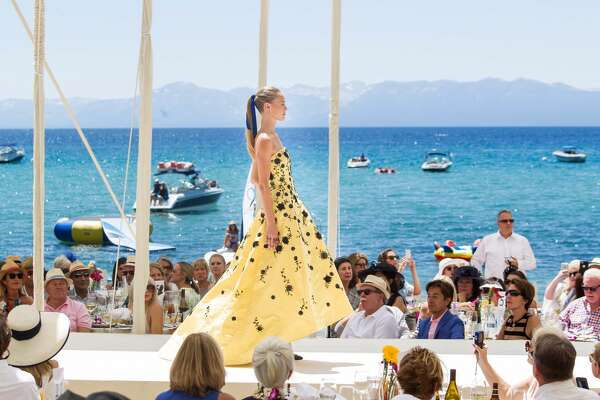 Runway at the League to Save Lake Tahoe & Saks Fifth Avenue's Oscar de la Renta Fashion Show