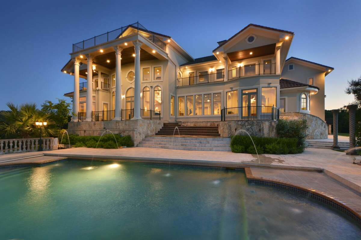The Austin mansion at 7500 Escala will hit the auction block August 30.