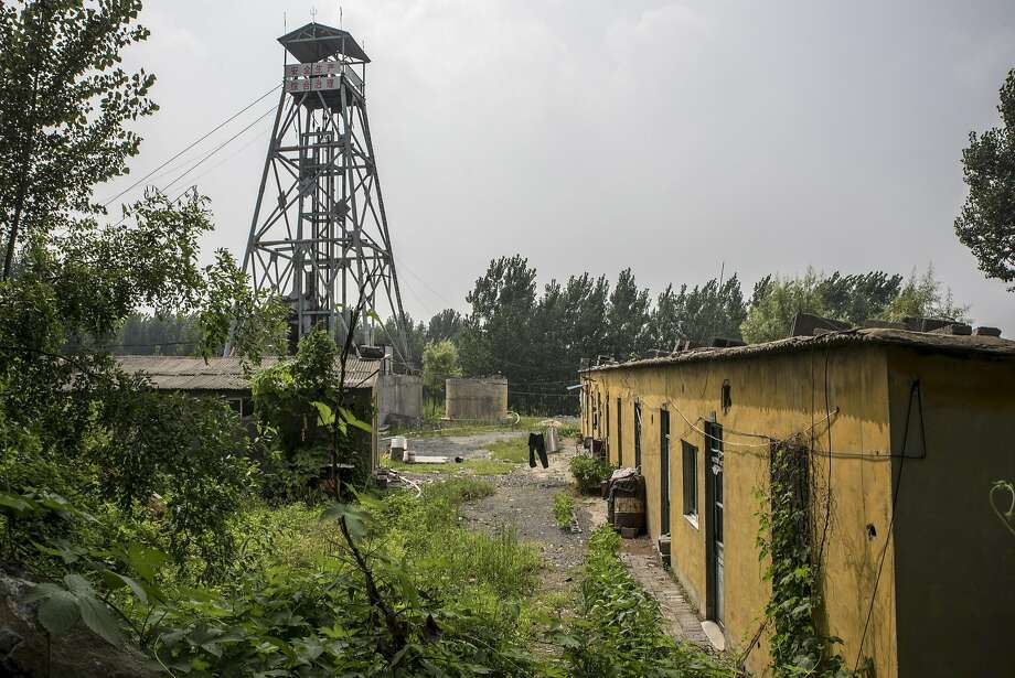 The Zhushi iron mine, where police allege that murder-for-profit schemes were disguised as routine accidents, is now closed. Photo: GILLES SABRIE, NYT