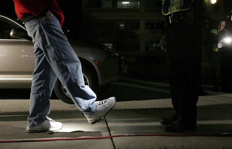 There were 31 arrests related to driving while intoxicated, public intoxication and driving under the influence with a minor in the vehicle that took place in Midland County during the New Year's Day weekend, according to the Midland County Sheriff's Office. Photo: Justin Sullivan/Getty Images