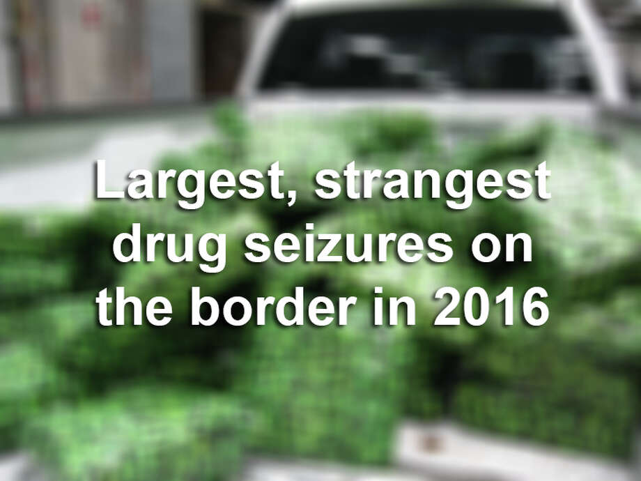 Click forward to see the U.S. Customs and Border Protection's biggest and most bizarre busts so far this year.
