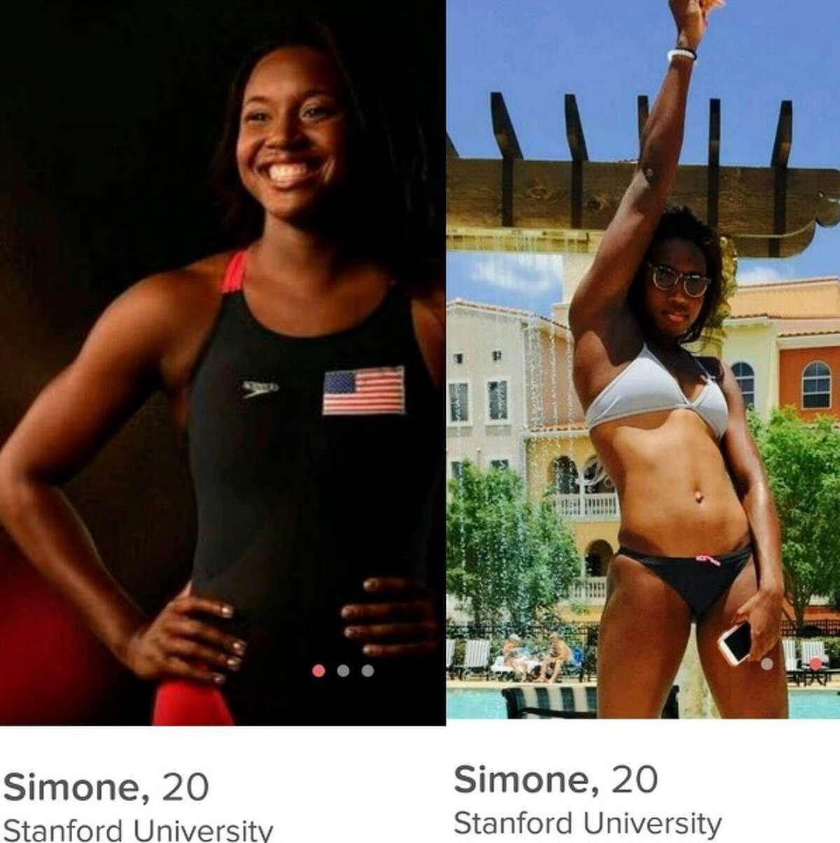 Simone Manuel, United States, swimmer