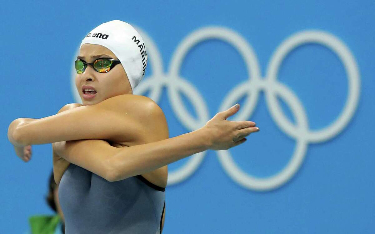 """Yusra Mardini doesn't know what life after Rio holds, but """"I want to continue swimming and I want to continue supporting refugees."""""""