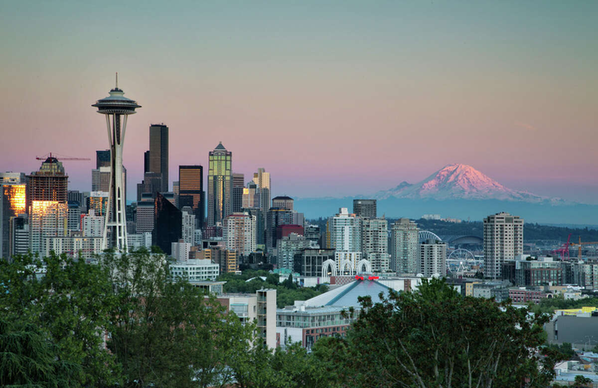 9. Seattle, WA Median list price: $592,000 Number of permits: 27,950 One-year change in permits: 2.1%