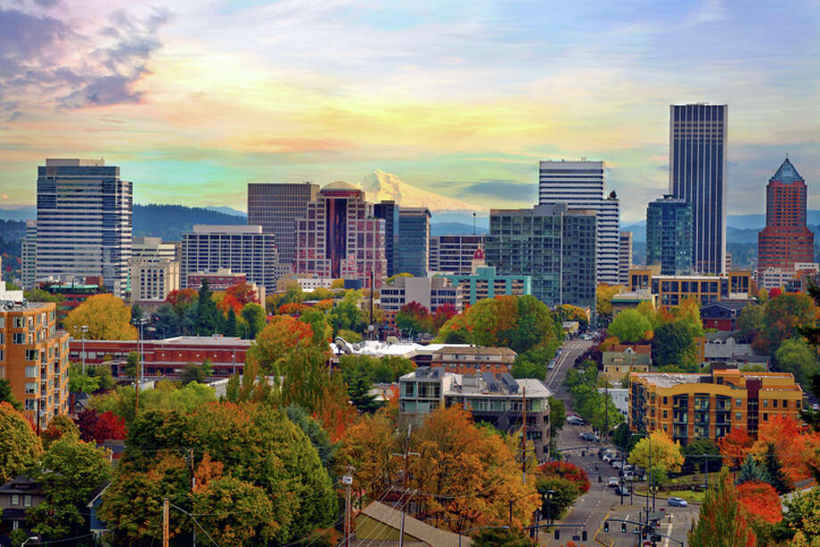 Portland's plan to convert solid human waste into a renewable energy source should help keep its skies clear. Photo: David Gn Photography/Getty Images