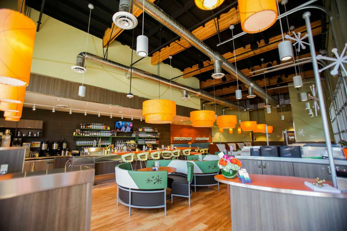 Interior of the brunch restaurant Snooze, which opens Wednesday at the Quarry Market.