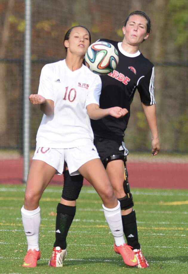 St. Joseph's Jenna Bike (10), national player of the year Photo: Tyler Sizemore / Tyler Sizemore / Greenwich Time