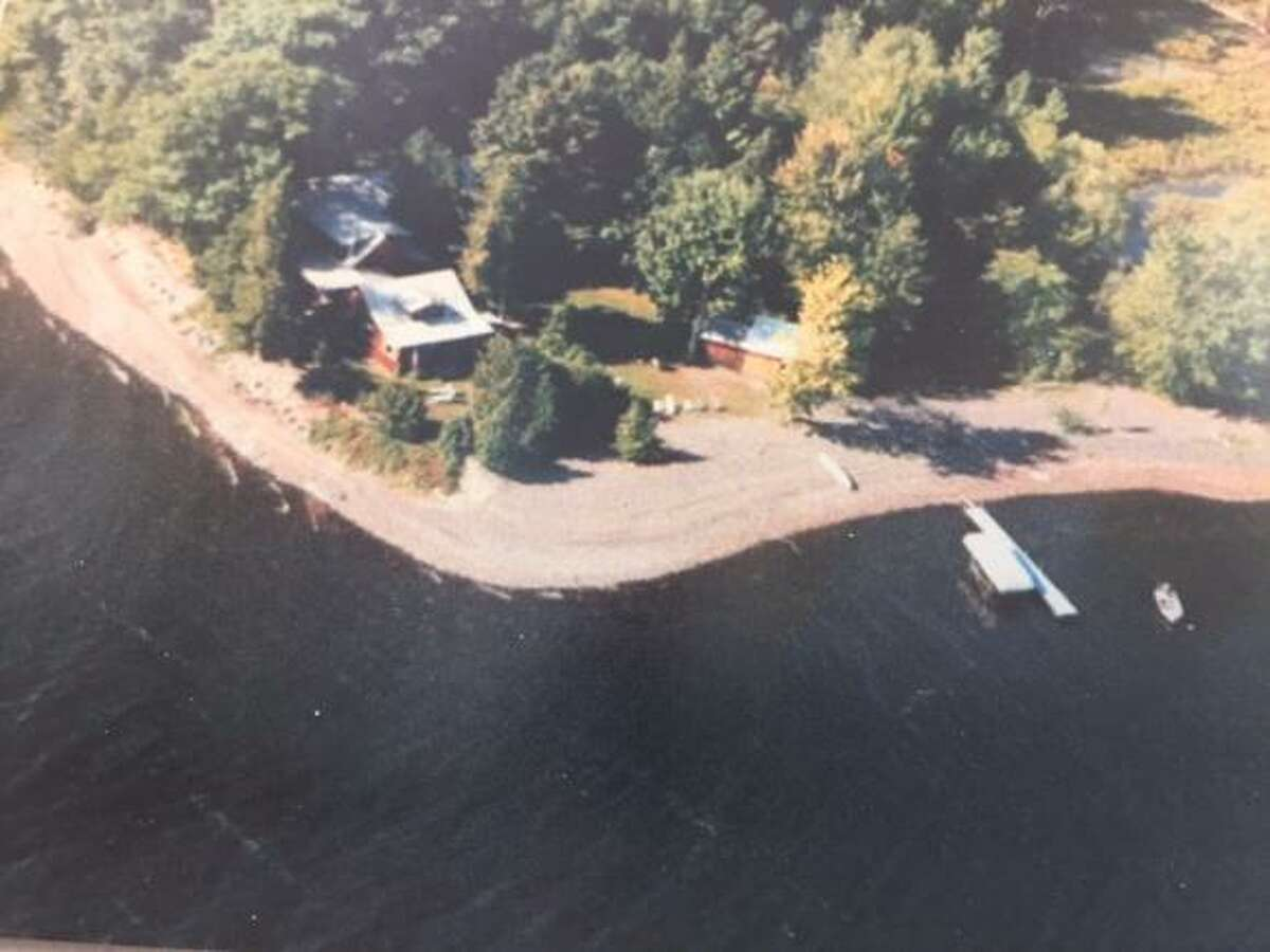 The home sits on 500 feet of Lake Champlain beachfront.
