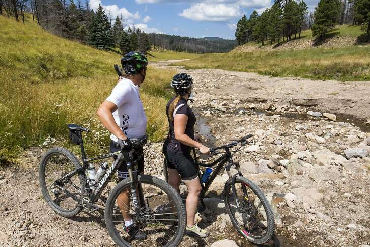The 89,000 acres of Valles Caldera National Preserve, an hour outside of Santa Fe, N.M., include trails ideal for hiking, mountain biking and cross-country skiing in winter.  �