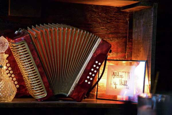 An accordian at The Squeezebox.