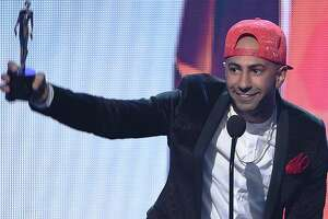 Internet personality Yousef Saleh Erakat, aka Fousey accepts the award for Best Show of the Year at VH1's 5th Annual Streamy Awards at the Hollywood Palladium on Thursday, September 17, 2015 in Los Angeles