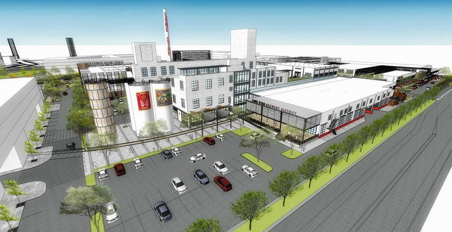 Renderings released in August 2016 provide the first look at what the neglected former San Antonio Lone Star Brewery site in Southtown will look like after a $300+ million redevelopment project. Photo: Aqualand Development/CBL & Associates Properties