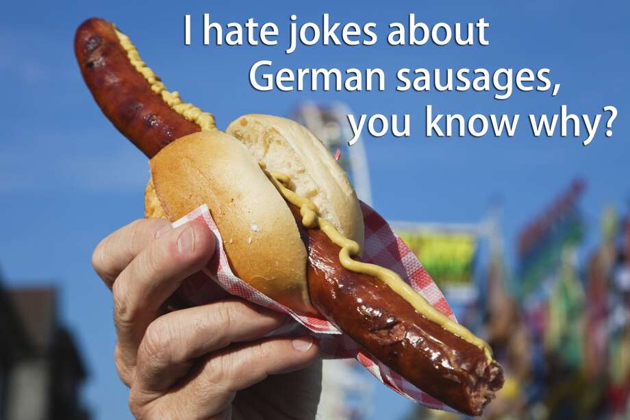"Keep clicking to view Jesse's hilariously bad H-E-B ""dad jokes.""I hate jokes about German sausages, you know why? Photo: Westend61/Getty Images/Westend61"