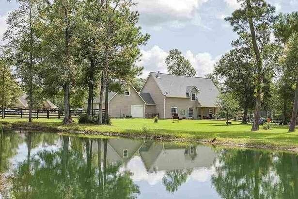 9035 Jewel Dr., Orange, Texas 77630     $379,900. 4 bedrooms; 4 full, 1 half bathrooms. 2,596 sq. ft., 4.95 acre lot.