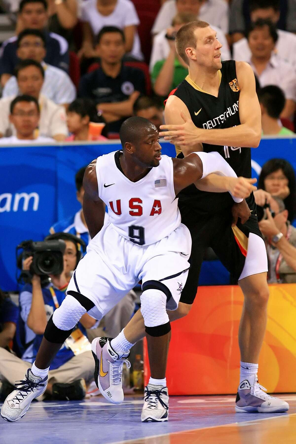 2008 Beijing Olympics - Group play (+49) United States 106, Germany 57