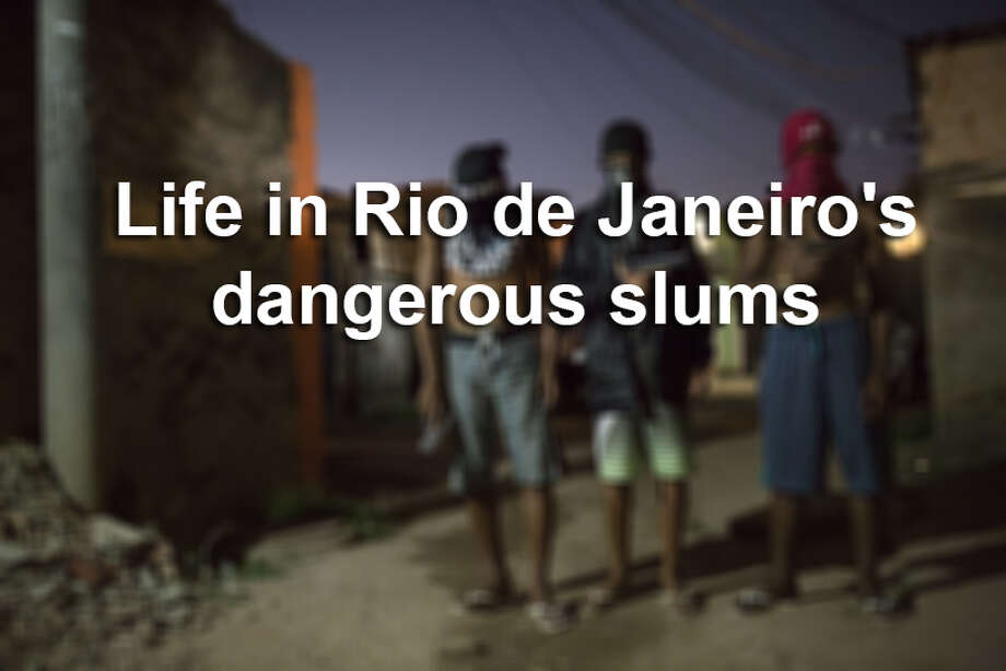 Click through the gallery to see photos from Rio de Janeiro's dangerous slums. Photo: Getty