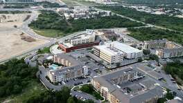 Forest Park Medical Center, on the Northwest Side of San Antonio at Loop 1604 and Interstate 10, is in the midst of one of the fastest-growing areas, as seen in May of this year. Bexar County could see 1 million more people by 2040.