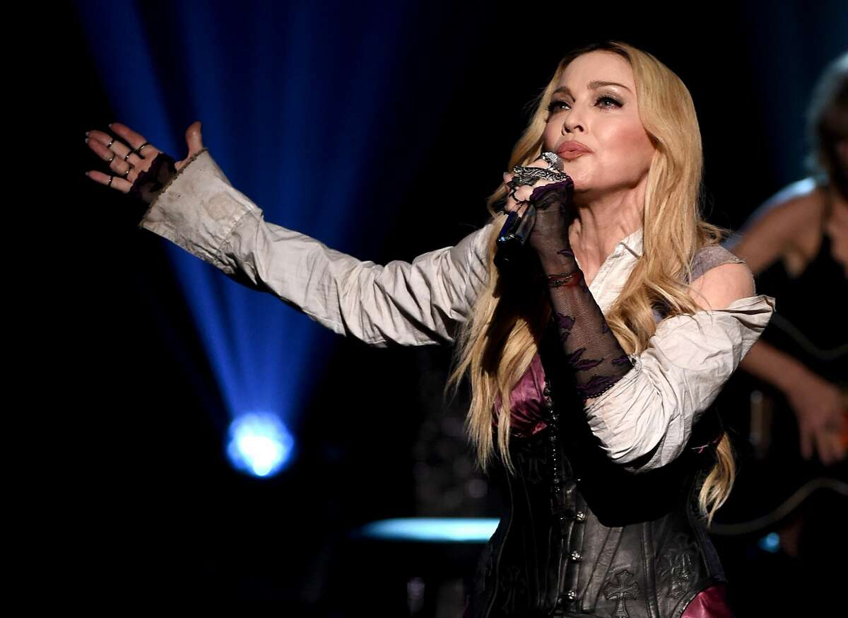 Madonna is playing three shows in San Francisco this fall. Cellphones are not allowed.