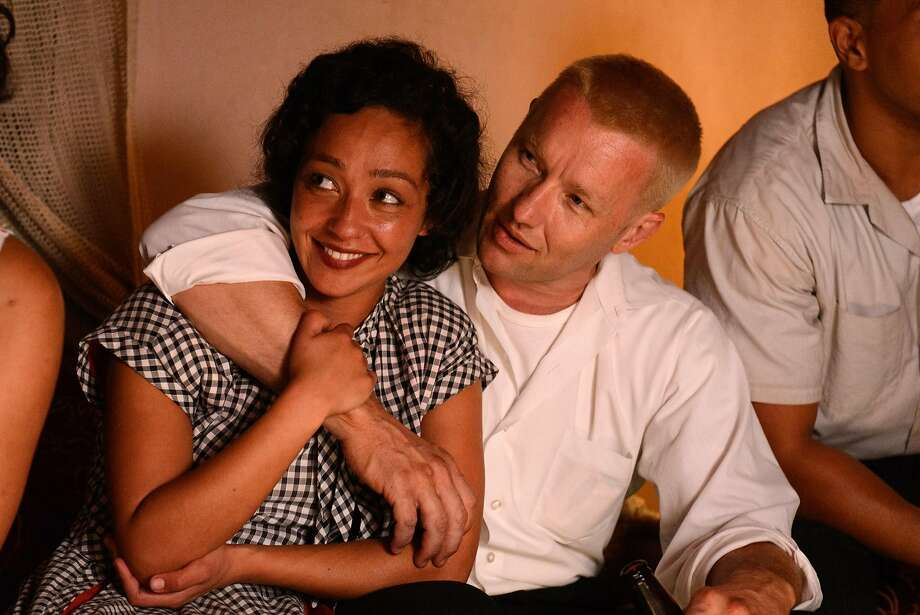 "Ruth Negga and Joel Edgerton play the couple who broke down a racist legal barrier in ""Loving."" Photo: Ben Rothstein, Associated Press"