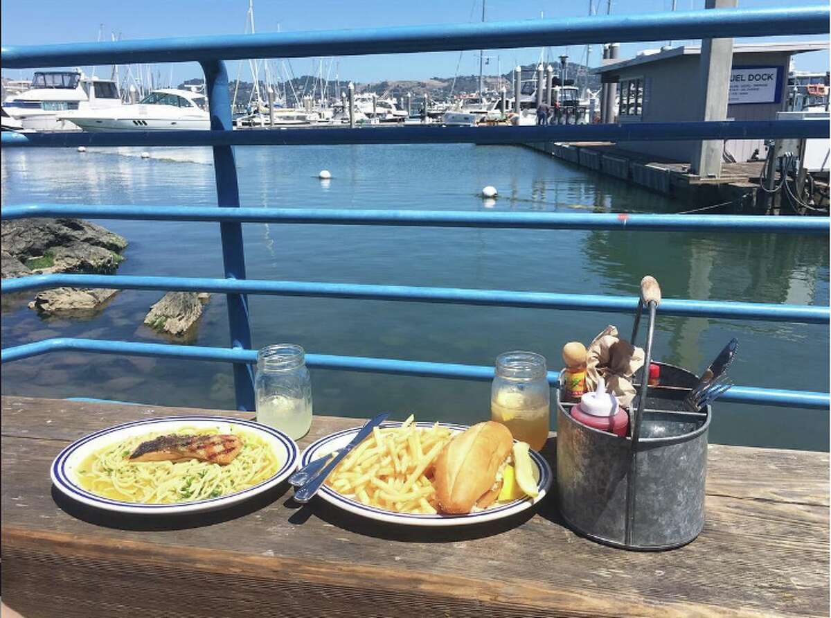 Click through to see some of the SFGATE staff's favorite date spots in the Bay Area. We've included everything from a casual waterfront meal, such as the pictured Fish restaurant in Sausalito, to romantic spots to sip a drink and cozy up together.