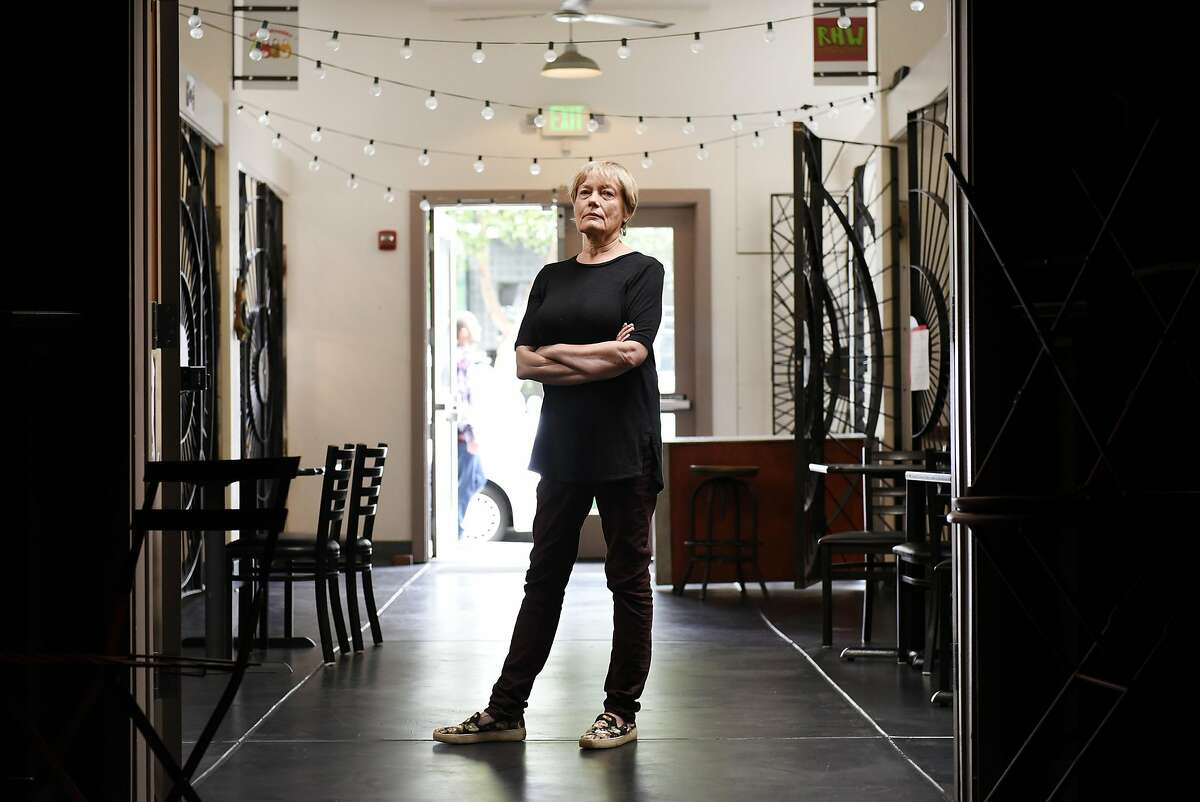 Building owner Betsy Rix poses for a portrait in the Second Act Marketplace in San Francisco, CA Thursday, August 11th, 2016. The Market Place will be closing it's doors on August 28th.