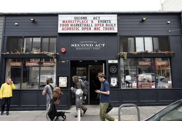 Second Act Marketplace in San Francisco, CA Thursday, August 11th, 2016.   The Market Place will be closing it's doors on August 28th.