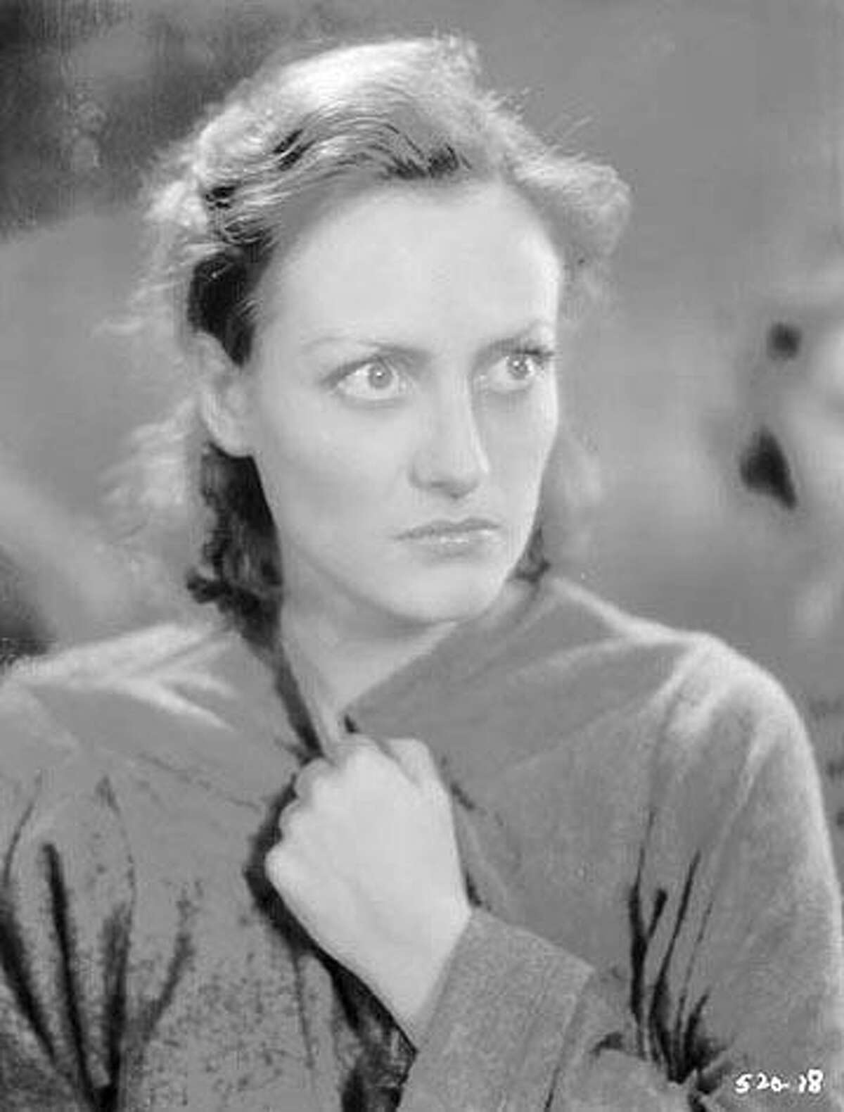 """Joan Crawford in """"Paid."""" 1930 Ran on: 05-13-2007 Jack Valenti: He wasnt such a bad guy, really."""