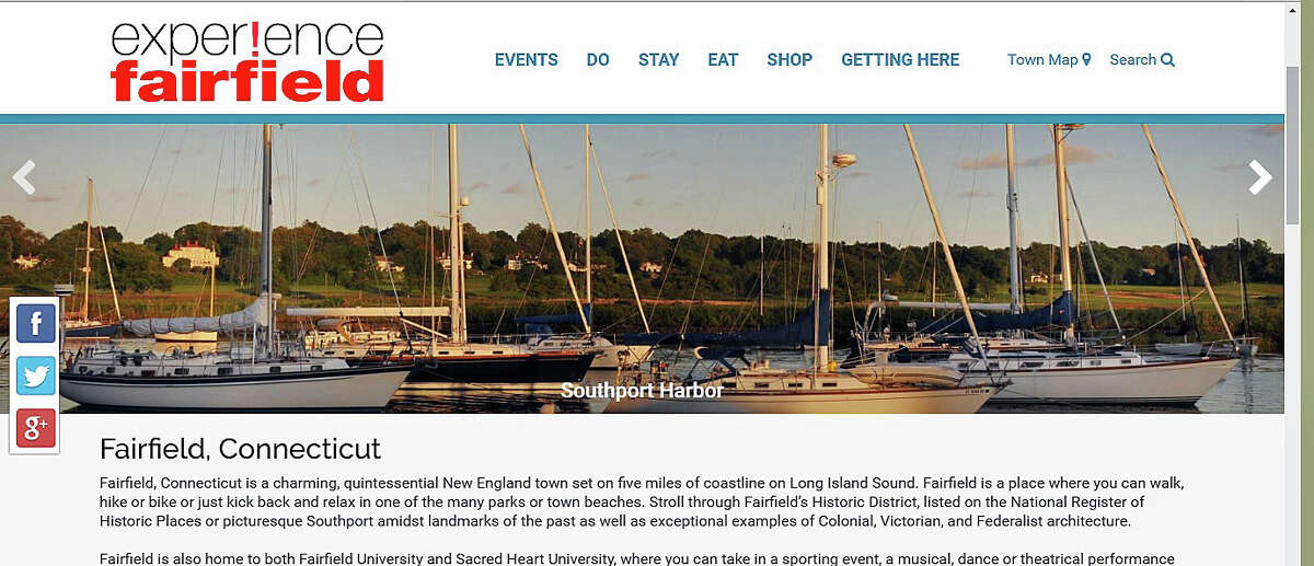 One of the new tools being used by the town to promote Fairfield is a website, experiencefairfieldct.org.
