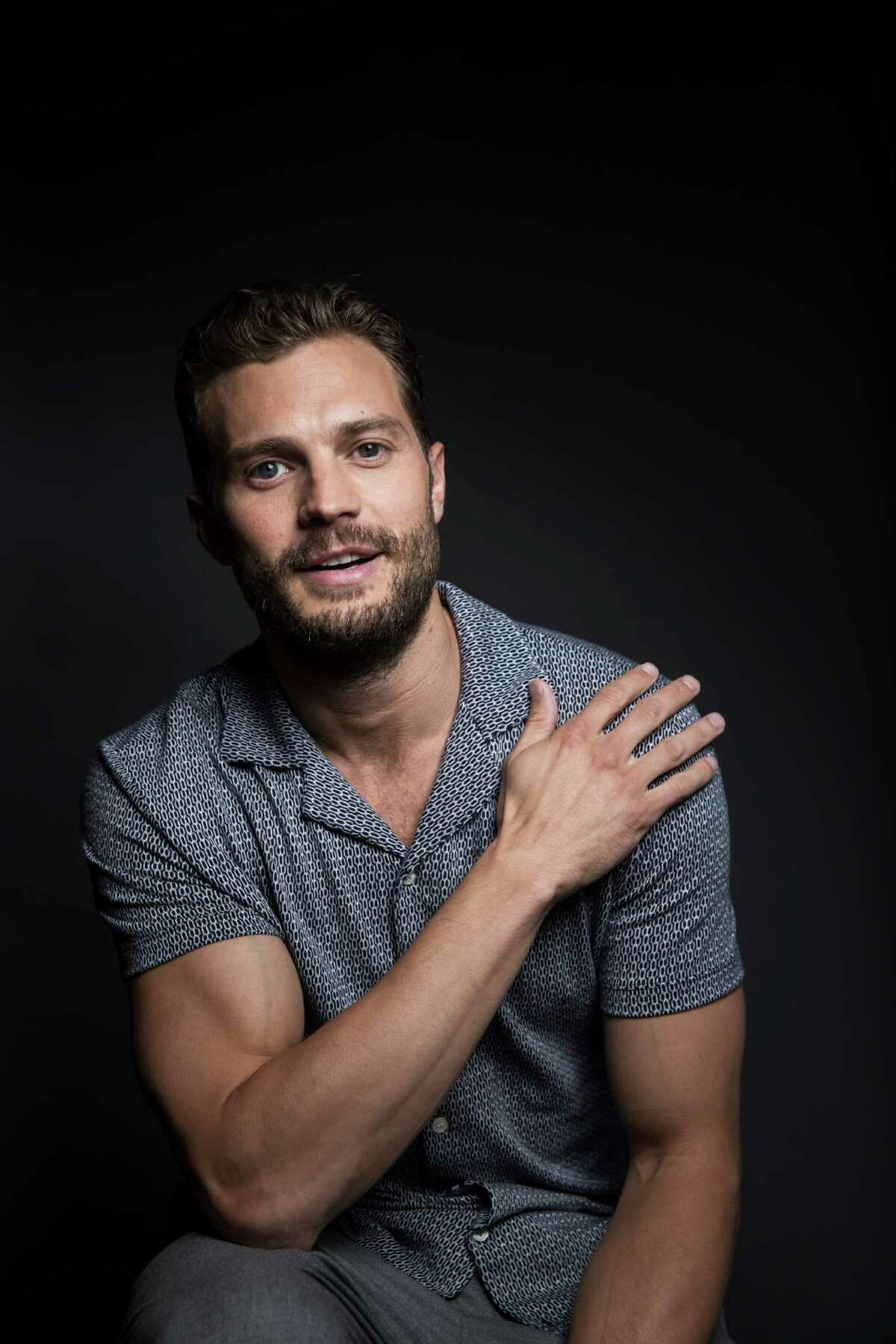 In this Aug. 6, 2016 photo, actor Jamie Dornan poses for a portrait to promote his film,
