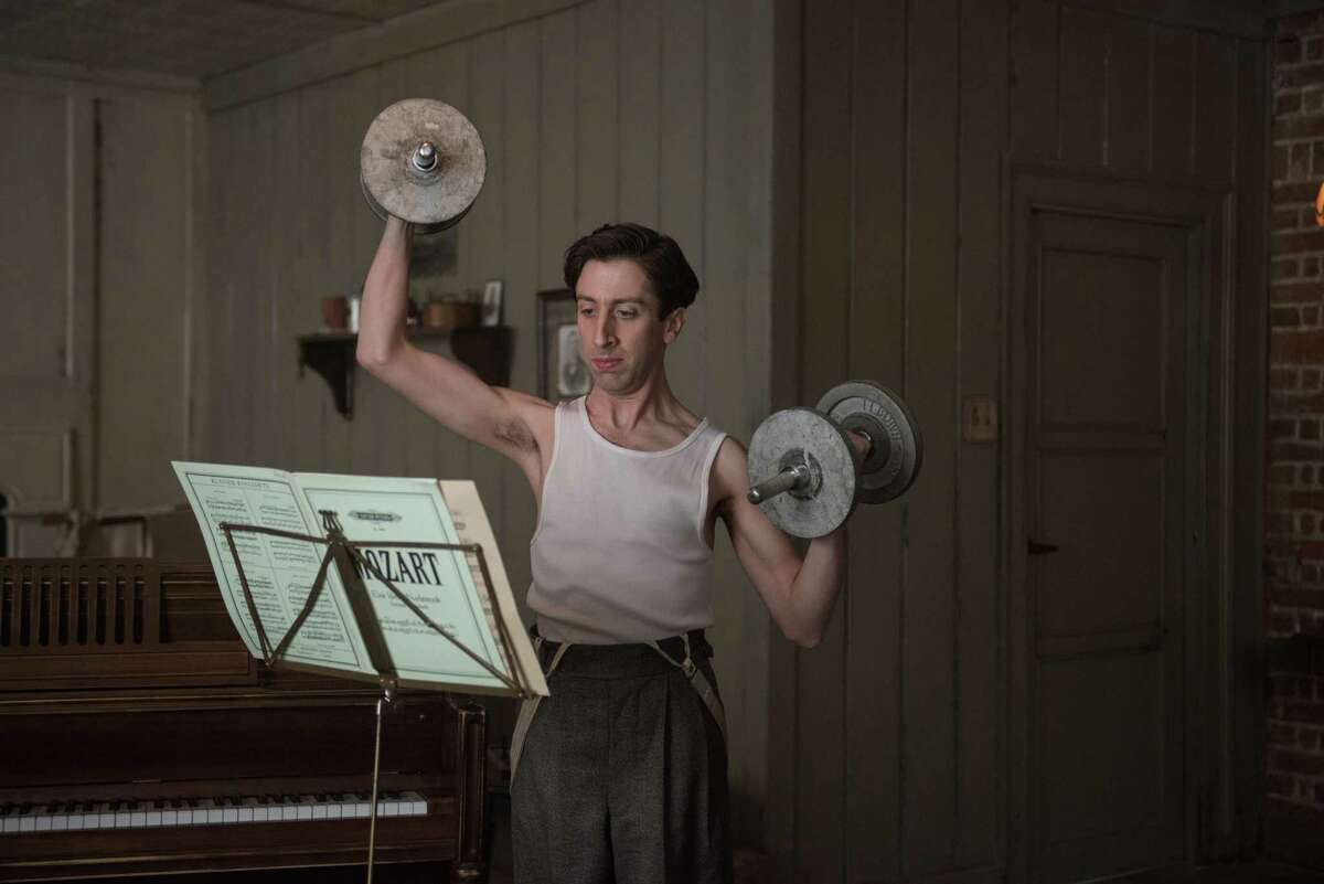 This image released by Paramount Pictures shows Simon Helberg as Cosme McMoon in,