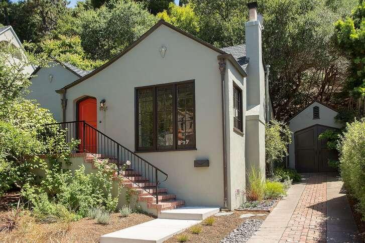 1621 Trestle Glen Road in Oakland is a two bedroom, two bathroom storybook set in the Glenview neighborhood.