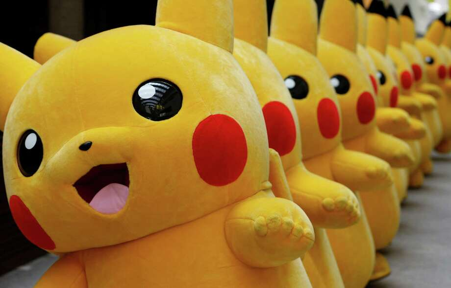 LIST: Pokemon baby namesA six-year-old recently hacked into her mom's phone and bought $250 of toys by using her mom's thumb while she was asleep.Click through to see Pokemon-inspired baby names. Photo: Shizuo Kambayashi, STF / Copyright 2016 The Associated Press. All rights reserved. This material may not be published, broadcast, rewritten or redistribu