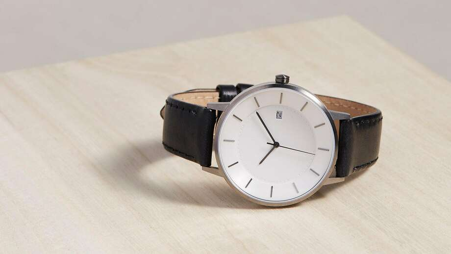 Leather-goods brand Linjer used crowdfunding to move into watches that are designed with founder Roman Khan's Norwegian heritage in mind, Photo: Linjer