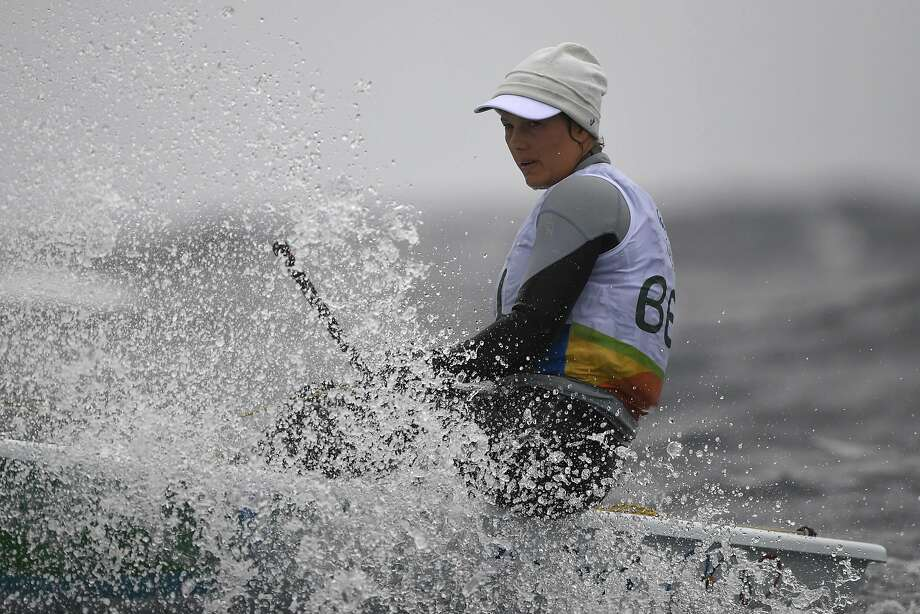 Belgium's Evi van Acker, a medalist four years ago, may not be able to compete in Brazil. Photo: WILLIAM WEST, AFP/Getty Images