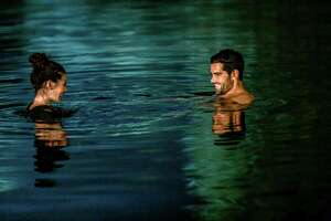 Abby O'Brien (Meghan Ory) leaves the New York stresses behind and begins to relax and reevaluate her life, thanks to her high school sweetheart Trace (Jesse Metcalfe), her warm family and the beauty of the lakes and beaches in her Maryland hometown in 'Chesapeake Shores,'a new series on Hallmark Channel.