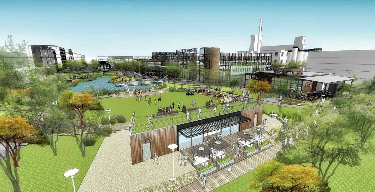 Aqualand and CBL planned to redevelop the brewery complex with a boutique hotel, several apartment complexes, 105,000 square feet of office space and 271,000 square feet of retail and entertainment space.