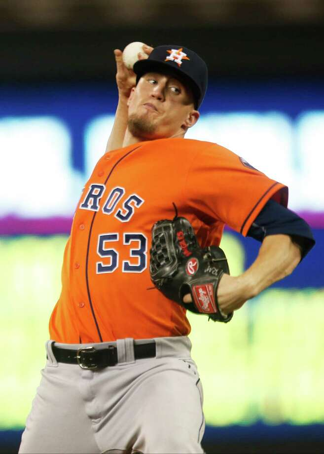 Expected to go on paternity leave this weekend, Ken Giles did not travel with the team north of the border on Thursday night. Photo: Jim Mone, Associated Press / AP