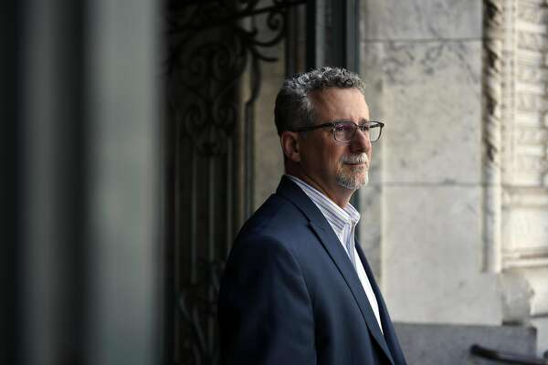 Jeff Kositsky, Director of the Department of Homelessness and Supportive Housing, poses for a portrait outside his offices in San Francisco, CA Thursday, August 11th, 2016.