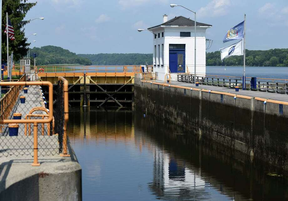 Lock 7 on Thursday, Aug. 11, 2016, in Niskayuna, N.Y. A federal judge on Wednesday ruled that Thruway tolls paid by truckers cannot go to support the state canal system, which is controlled by the Thruway Authority. (Will Waldron/Times Union) Photo: Will Waldron