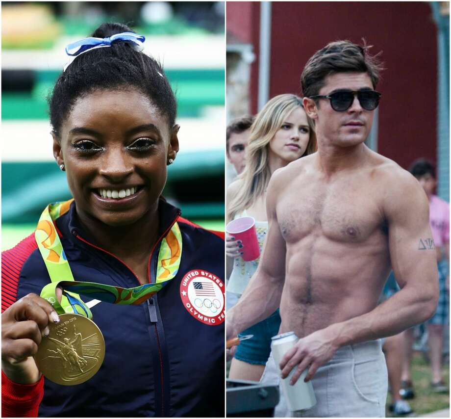 Zac Efron and Simone Biles have some serious flirting going on Twitter, and it's the cutest thing. Apart from her love of Efron, there are plenty of things to learn about the individual all-around gold medalist. Take a look through the gallery see the tweets and keep going for facts about Simone Biles.