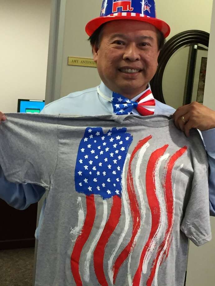Coldwell Banker United, Realtors colleagues surprised Patrick Lim with a celebration when he returned from being sworn in as a U.S. citizen.