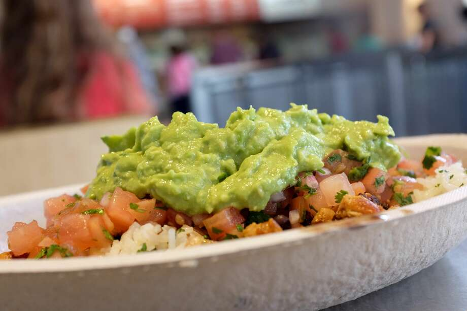 MIAMI, FL - MARCH 05:  Guacamole sits on a dish at a Chipotle restaurant on March 5, 2014 in Miami, Florida. The Mexican fast food chain is reported to have tossed around the idea that it would temporarily suspend sales of guacamole due to an increase in food costs.  (Photo by Joe Raedle/Getty Images) Photo: Joe Raedle/Getty Images