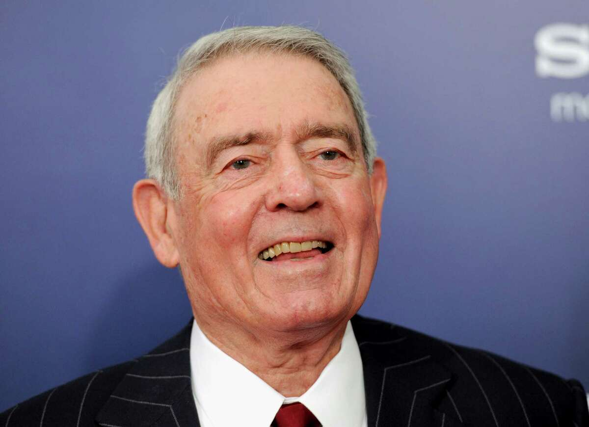 Dan Rather said he couldn't have become a reporter without dedicated teachers.