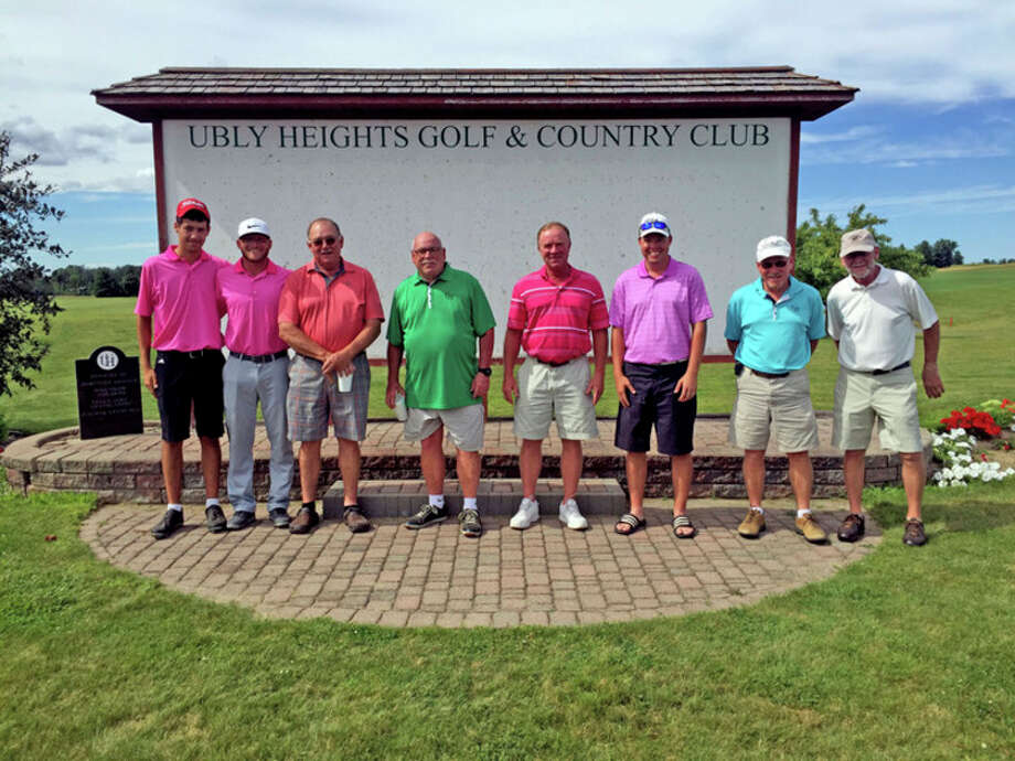 Ubly Heights Golf & Country Club hosted its annual Men's Invitational. Picture are the winners from each flight.