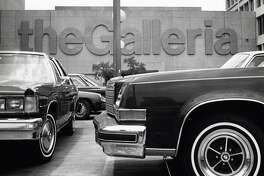 05/26/1979 - Parking at the Houston Galleria, Westheimer at Post Oak, can be a challenge. 4.6 parking spaces are built for each 1,000 square feet of retail space.